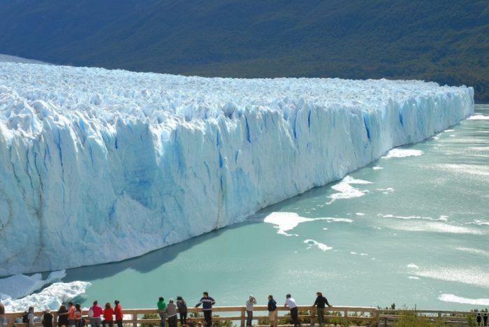 Ледник в Аргентине