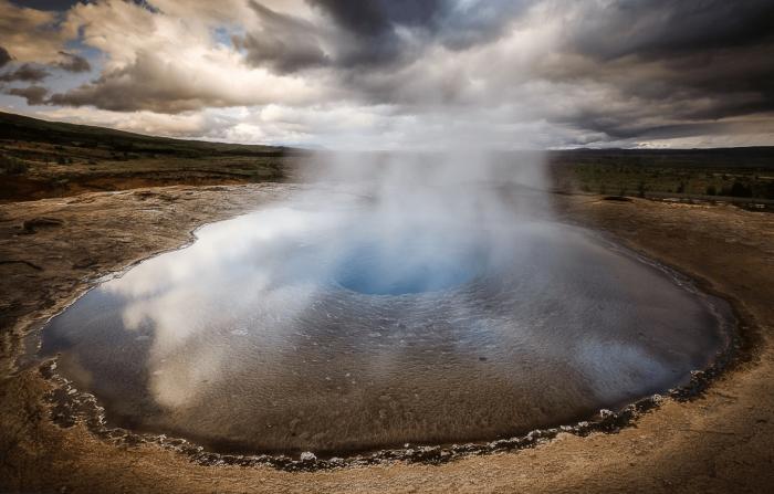 Великий Гейсир в Исландии
