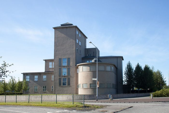 Здание Национального музея Исландии в Рейкьявике