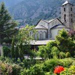 Исторический комплекс Сала-дель-Кансель в Андорре летом