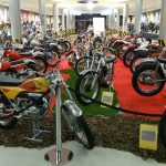Экспонаты музея мотоциклов в Андорре