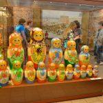 Русские матрёшки в музее матрёшки Андорры