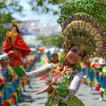 Девушки на празднике Синулог, Филиппины