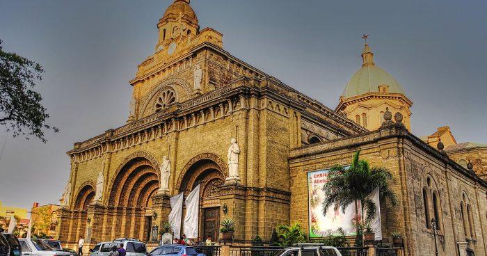 Фасад Кафедрального собора Филиппин