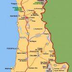 Карта Крайнего Севера Чили