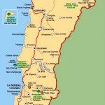 Карта Ближнего Севера Чили