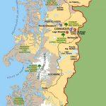 Карта Ближнего Юга Чили