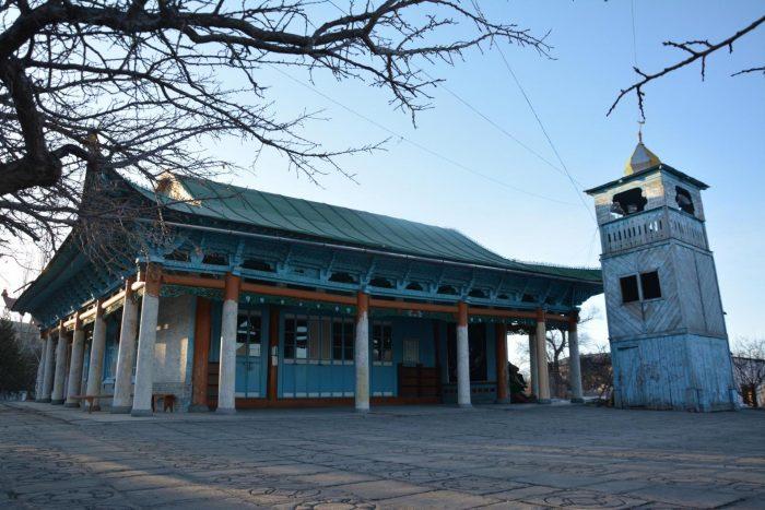Дунганская мечеть в Караколе
