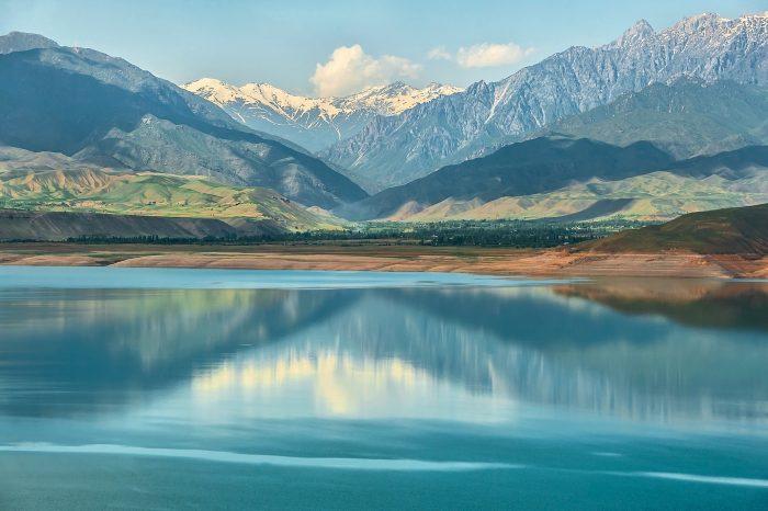 Озеро Иссык-Куль в Кыргызстане