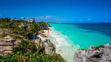 Популярные туристические места в Мексике