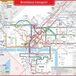 Транспортная схема Братиславы