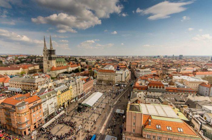 Панорама Загреба