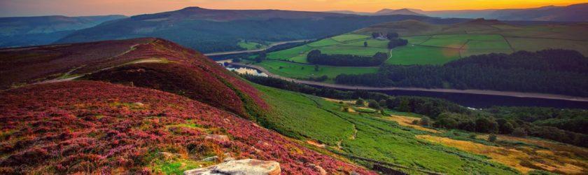 красивый пейзаж англии