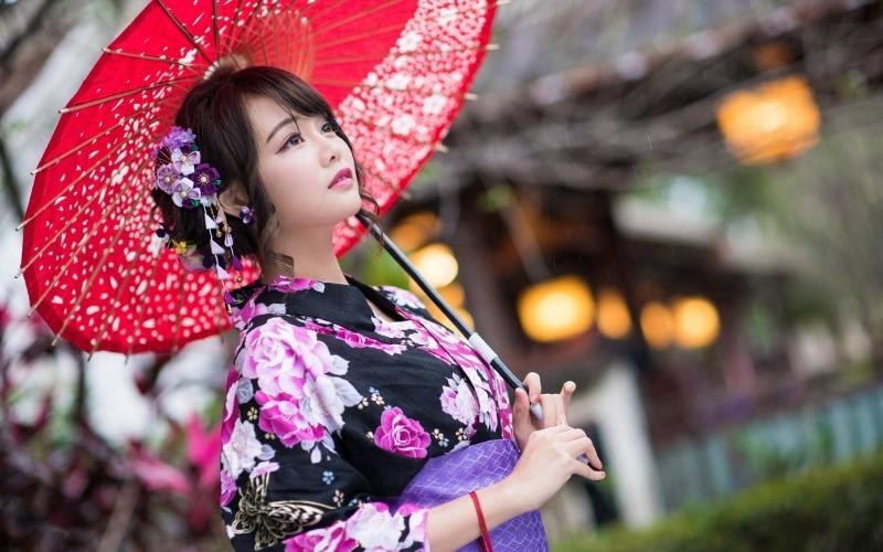 Женщины японии картинки